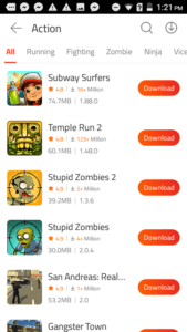 9Apps Action Games